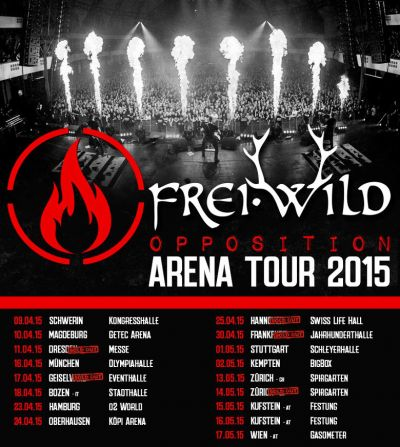 Opposition Arena Tour 2015