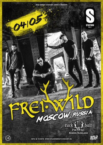 Frei.Wild goes Russia