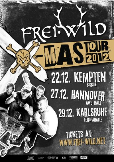 Hannover - AWD Hall / Xmas-Tour 2012