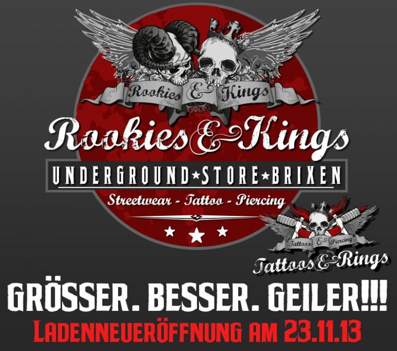 Rookies and Kings Store Brixen, die LadenNEUeröffnung