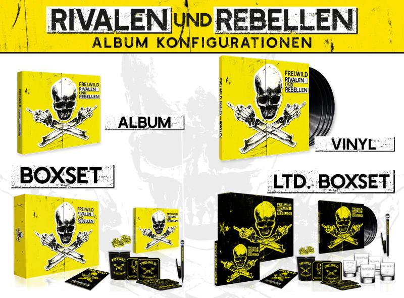 frei wild rivalen und rebellen album