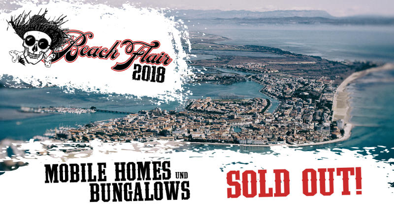 Beach Flair 2018! Alle Mobile Homes und Bungalows SOLD OUT !