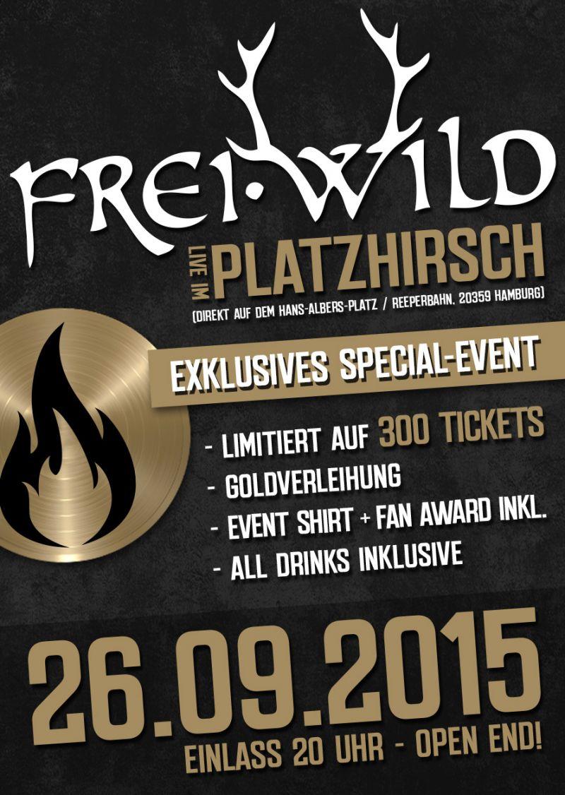 Freiwild Live Im Platzhirsch Zu Hamburg Blog Freiwild
