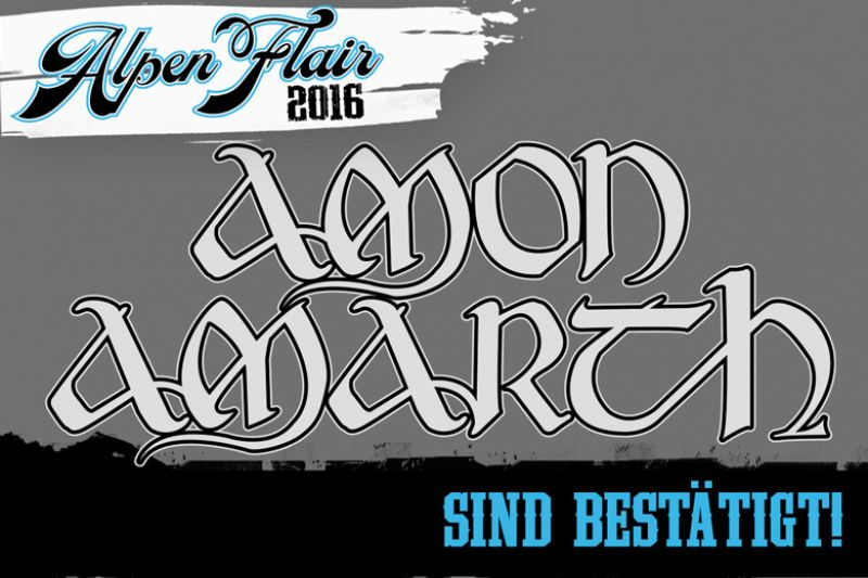 AMON AMARTH @ ALPEN FLAIR 2016 !