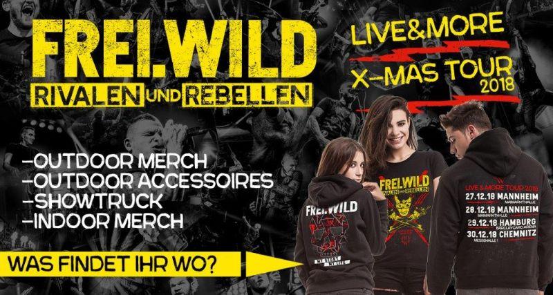 X Mas Tour Livemerch Was Findet Ihr Wo Blog Freiwild