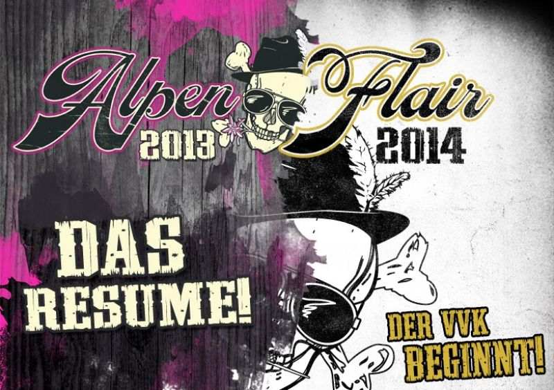 AlpenFlair 2013 - Resume und VVK Start 2014