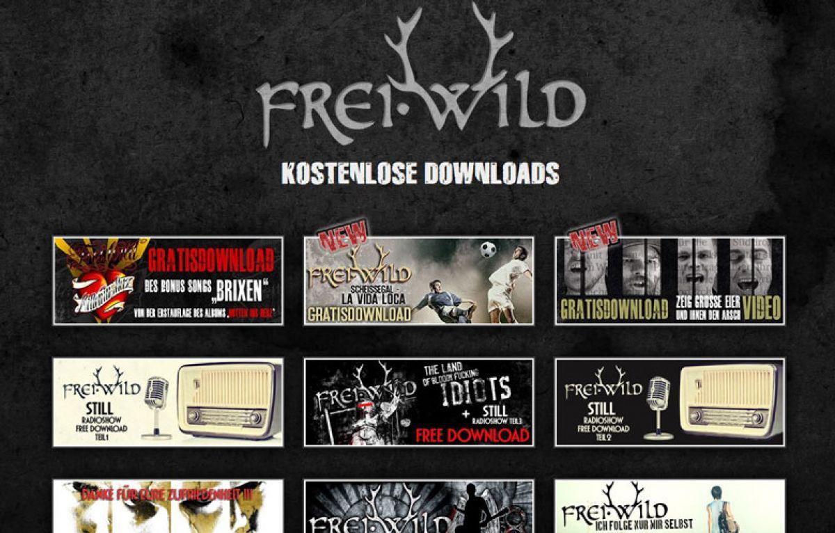 Elegant Frei Wild Lieder Kostenlos Downloaden