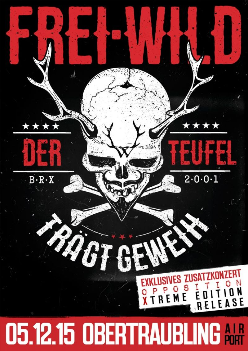Frei.Wild Opposition Xtreme - Exclusive Releaseshow...Klappe die 2te