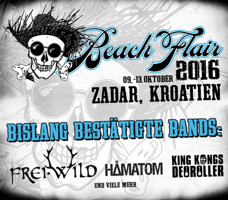 BEACH FLAIR 2016 Vol.2 vom 09.-13.10.2016, Zadar, Kroatien