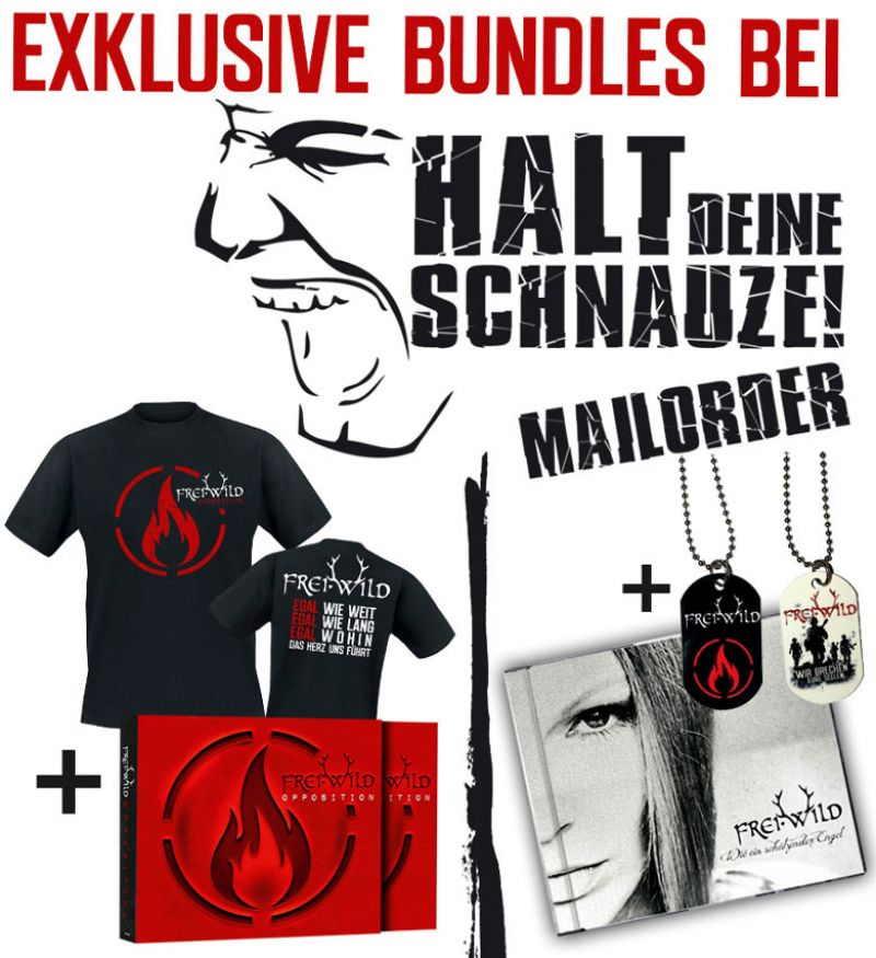 Exklusive Single & Album Shirt Bundles beim HDS Mailorder