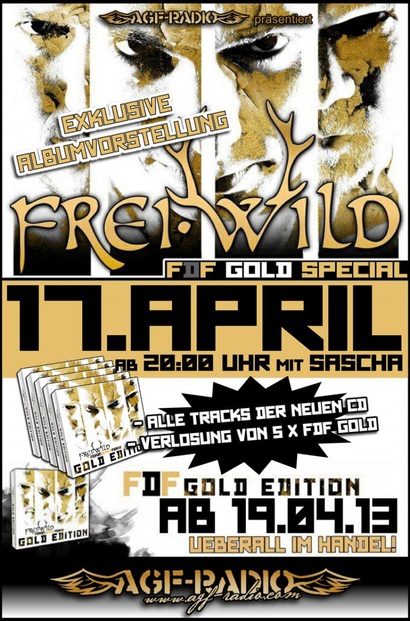 Gold Edition: Livetracks Ausschnitte & AgF-Radio Special
