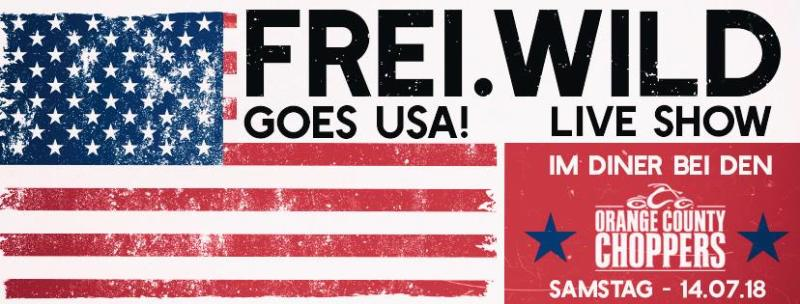 Frei.Wild rocken die USA - Live Video vom OCC Cafe!