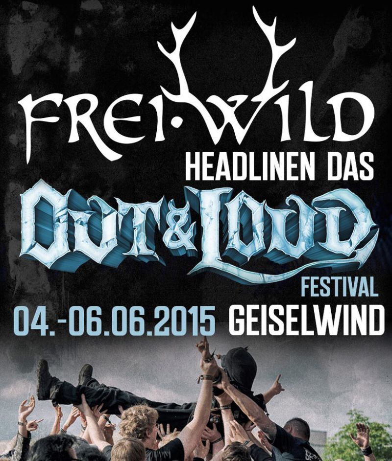 Frei.Wild headlinen Out & Loud Festival in Geiselwind
