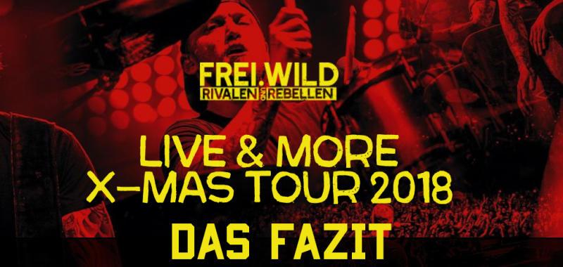Livemore X Mas Tour 2018 Das Fazit Blog Freiwild